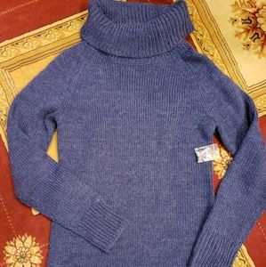 Brand new with out tags navy cowl neck tunic
